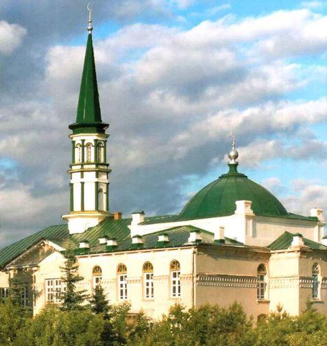 Соборная мечеть в Уфе (Башкирия)