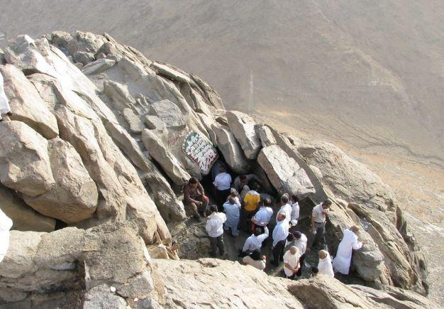 Пещера Хира горы Джабаль ан-Нур